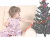 赤ちゃんと過ごすクリスマスに