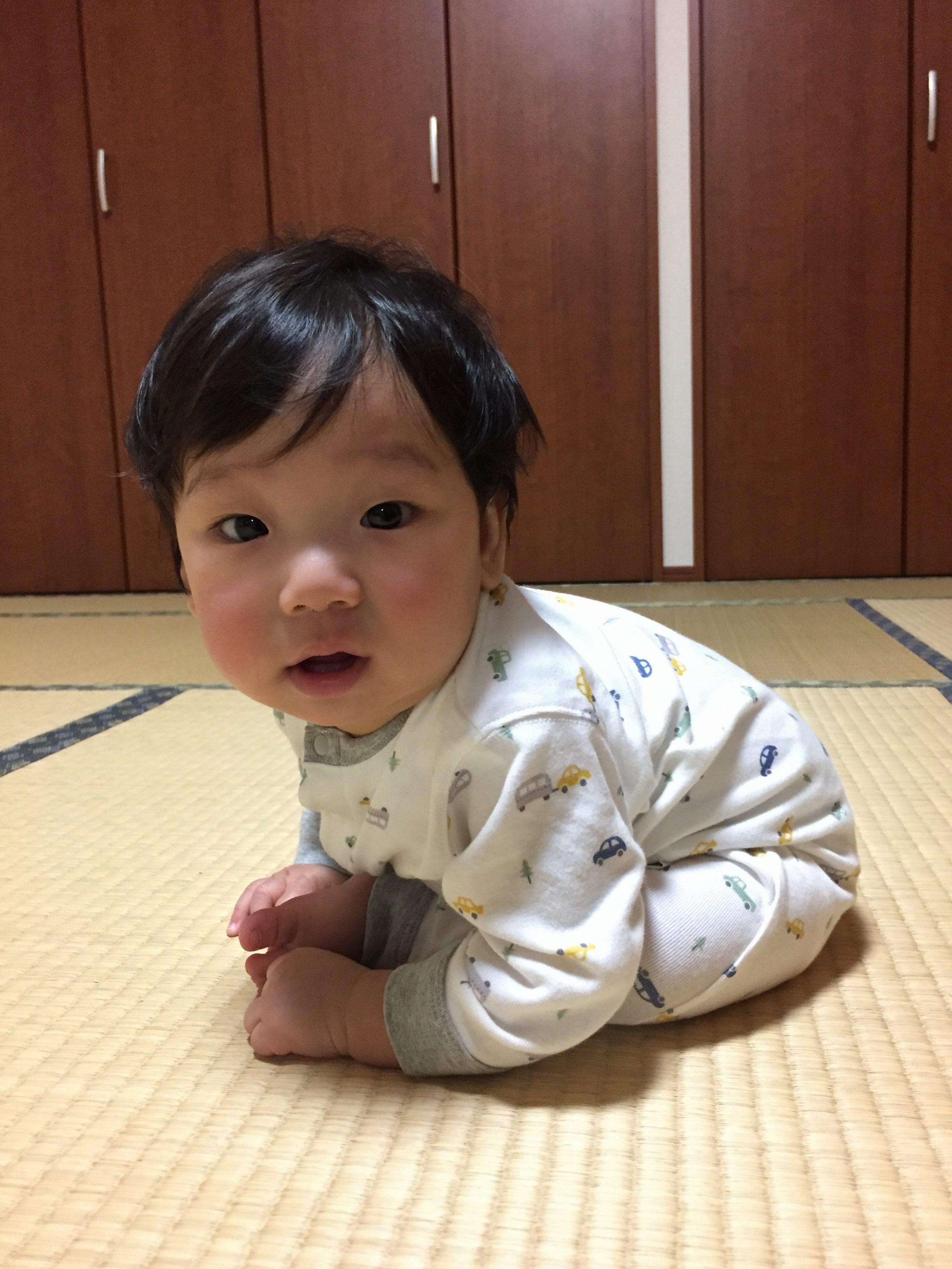 赤ちゃん写真 のりくん